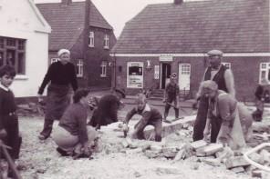 Sjørup Forsamlingshus 1957